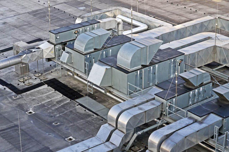 ventilation espace de travail